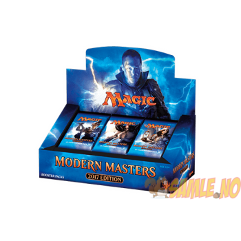 Modern Masters 2017 Booster Display
