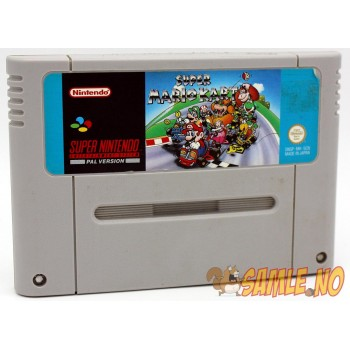Super Mario Kart - Etikettskade