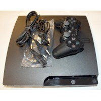 PS3 Slim 320GB HDD m. 10 Spill