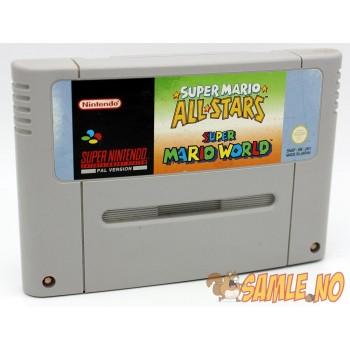 Super Mario Allstars + Super Mario World