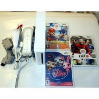 Nintendo Wii m. 3 spill